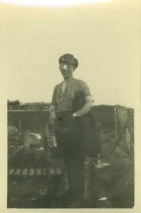 Lieutenant WF Findlay, Bombing Officer