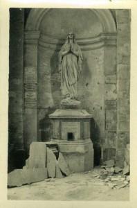 Arras Cathedral, November 1916