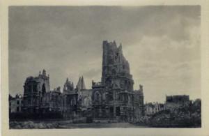 Hotel de Ville, Arras, November 1916