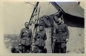 Billet nr Offoy 1917