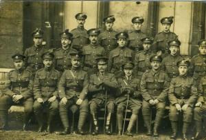 Bantams postcard 1917