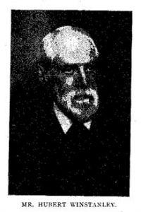 Hubert Winstanley
